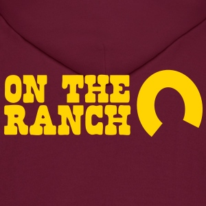 on the ranch Hoodies - Men's Hoodie