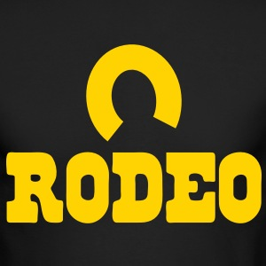 rodeo with horseshoe Long Sleeve Shirts - Men's Long Sleeve T-Shirt by Next Level