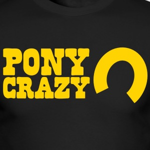 pony crazy Long Sleeve Shirts - Men's Long Sleeve T-Shirt by Next Level
