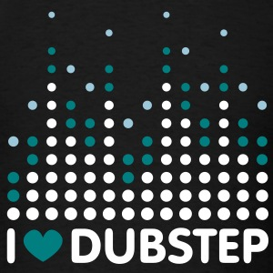 I Love Dubstep Men's T-shirts - Men's T-Shirt