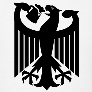 Coat of arms of Germany (drinking beer) T-Shirts - Men's T-Shirt