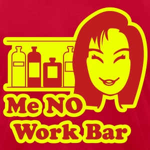 Me No Work Bar 2 T-Shirts - Men's T-Shirt by American Apparel