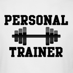 Personal Trainer Light-Colored Long Sleeve T-Shirt (Back Design)