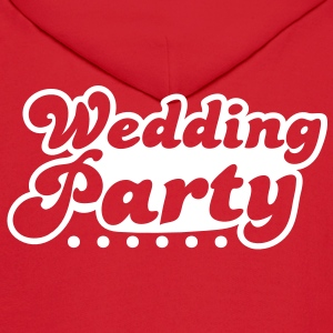 wedding party in pink Hoodies - Men's Hoodie