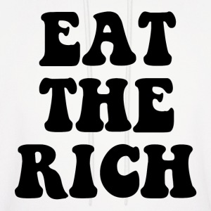 Eat The Rich Occupy Wall Street Hoodies - Men's Hoodie