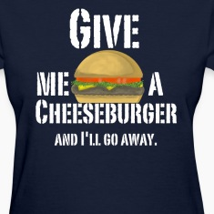 Women's Cheeseburger Shirt