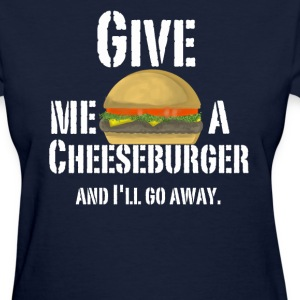 Women's Cheeseburger Shirt - Women's T-Shirt