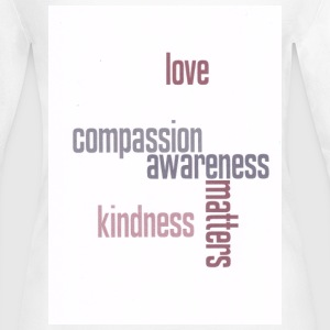 Kindness Matters - Women's Long Sleeve Jersey T-Shirt
