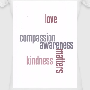 Kindness Matters - Women's V-Neck T-Shirt