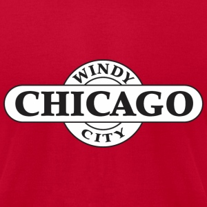 Chicago - Windy City - Men's T-Shirt by American Apparel