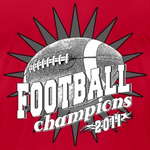 Football Champions 2011 T-Shirts - Men's T-Shirt by American Apparel