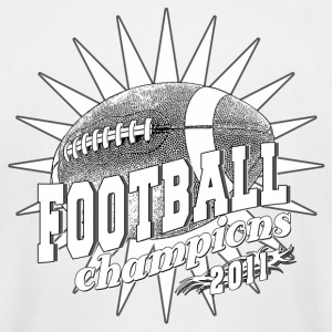 Football Champions 2011 BW T-Shirts - Men's Tall T-Shirt