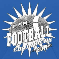 Football Champions 2011 BW Sweatshirts