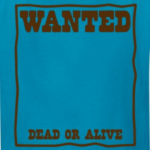 reward wanted poster Kids' Shirts - Kids' T-Shirt