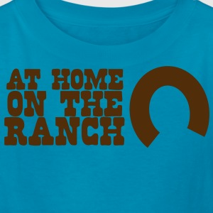 At home on the ranch with horseshoe Kids' Shirts - Kids' T-Shirt