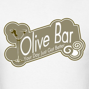 Olive Bar - Men's T-Shirt