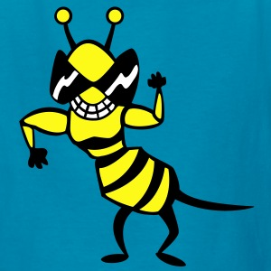 cool bee - wasp Kids' Shirts - Kids' T-Shirt