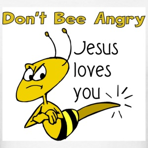 Don't be angry, Jesus loves you shirt - Men's T-Shirt