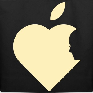 Apple Heart jobs (1c) Bags  - Eco-Friendly Cotton Tote