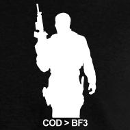 Design ~ Mens Tee : COD  BF3