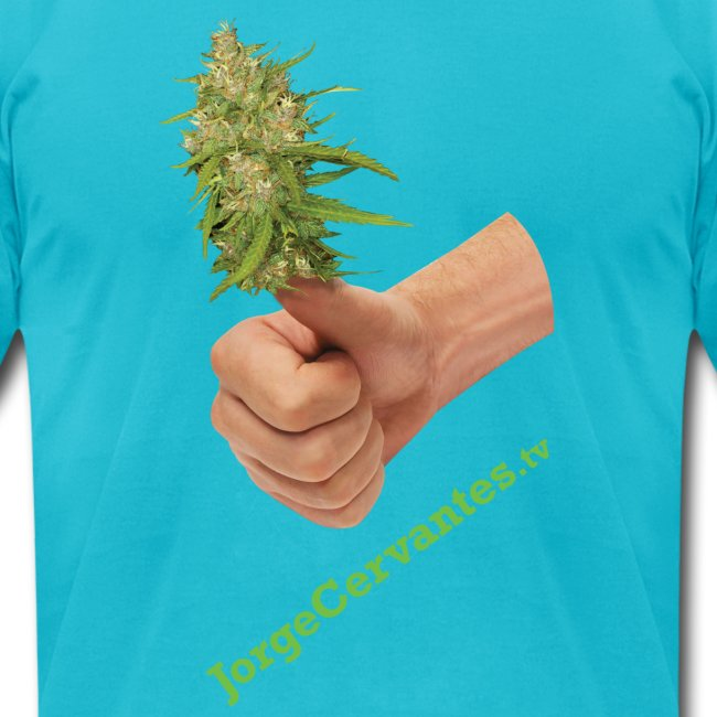 Jorge Cervantes TV Thumbs Up Bud (American Apparel)