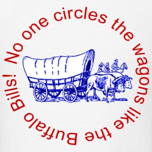 Circle the Wagons - Men's T-Shirt