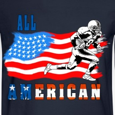 All American Football player 2 Long Sleeve Shirts