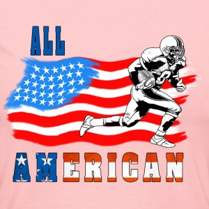 All American Football player 2 Long Sleeve Shirts - Women's Long Sleeve Jersey T-Shirt