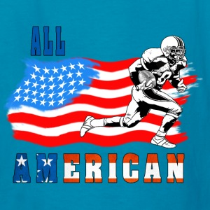 All American Football player 2 Kids' Shirts - Kids' T-Shirt