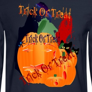 Trick or Treat - Men's Long Sleeve T-Shirt