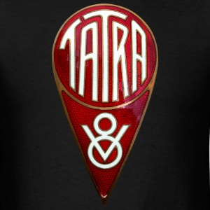 Tatra V8 badge emblem - Men's T-Shirt