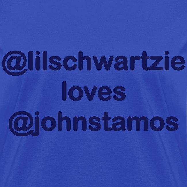 @lilschwartzie loves @JohnStamos