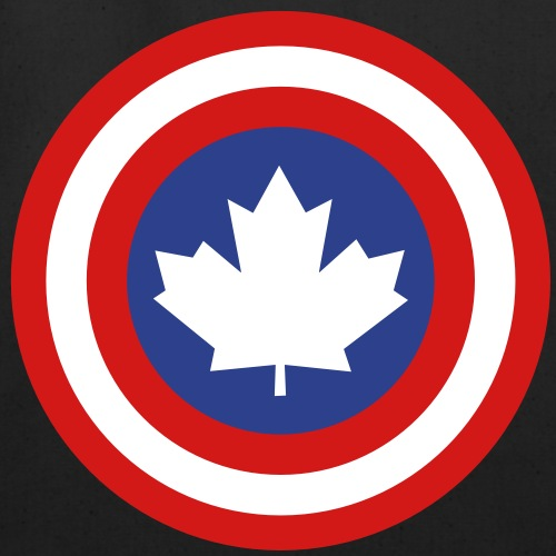 Captain Canada Shield 3 Colour