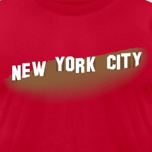 New York Hollywood Sign T-shirt - Men's T-Shirt by American Apparel