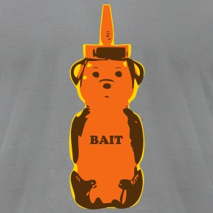 Bait 3 color - Men's T-Shirt by American Apparel