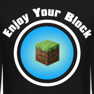 Design ~ Enjoy Your Block - Men's Sweatshirt