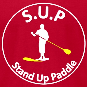 sup : Stand Up Paddle T-Shirts - Men's T-Shirt by American Apparel