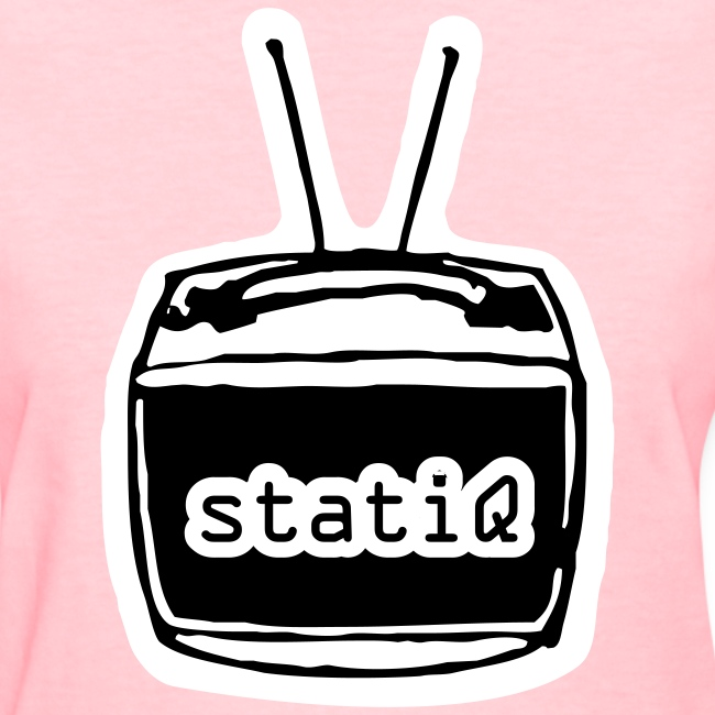 statiQ TV head shirt - womens