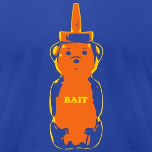 Bait 2 color - Men's T-Shirt by American Apparel
