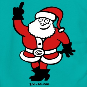 Santa Claus Celebrating Zip Hoodies/Jackets - Unisex Fleece Zip Hoodie by American Apparel