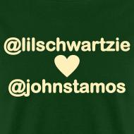 Design ~ @lilschwartzie heart @johnstamos - Men's T