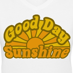 Good Day Sunshine - Women's V-Neck T-Shirt