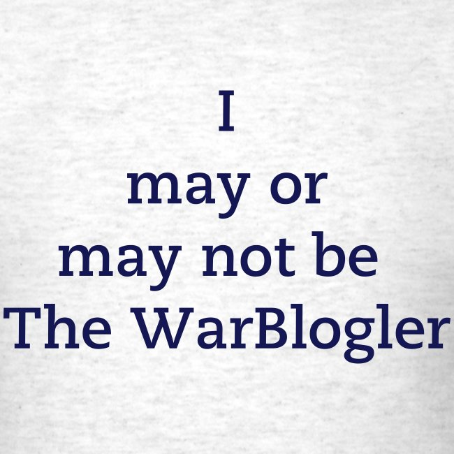 WarBlogler - Blue Text