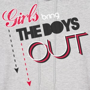 SNSD - Girls Bring the Boys Out - Men's Hoodie