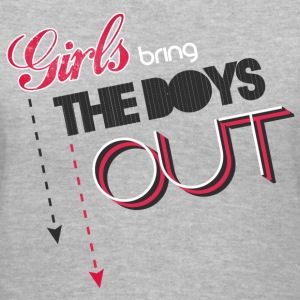 SNSD - Girls Bring the Boys Out - Women's V-Neck T-Shirt