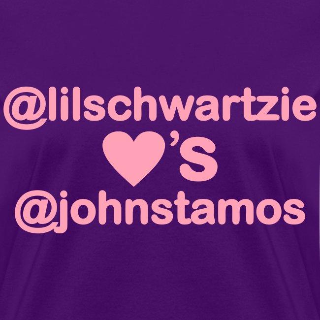 @lilschwartzie heart's @JohnStamos
