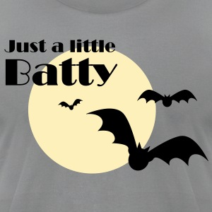 Just a little Batty T-Shirts - Men's T-Shirt by American Apparel