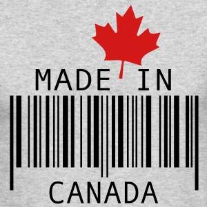 Made in Canada Red Long Sleeve Shirts - Men's Long Sleeve T-Shirt by Next Level