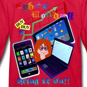 Cyber Monday-Bring It On1 - Kids' Long Sleeve T-Shirt