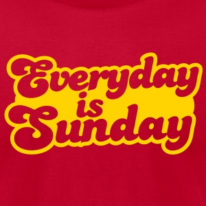 Everyday is Sunday T-Shirts - Men's T-Shirt by American Apparel